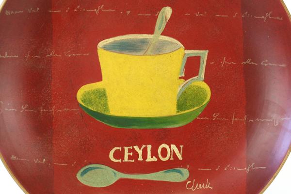 SwedeMom - Oriental Accent Ceylon Wall Hanging 10.5\' Round Red ...