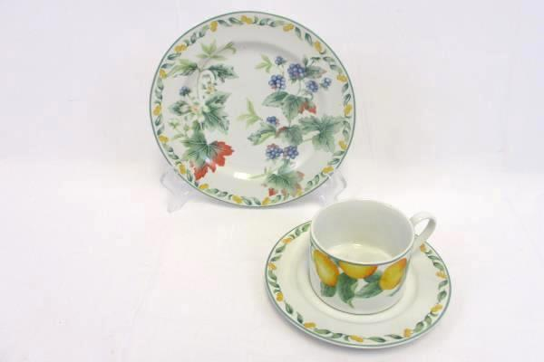 Avon China Julie Pople Country Fruit 3 Replacement Pieces Cup Saucer Salad Plate & SwedeMom - Avon China Julie Pople Country Fruit 3 Replacement Pieces ...