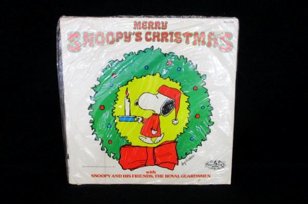 snoopy vintage 1967 merry snoopys christmas holiday records album lp - Snoopys Christmas Album