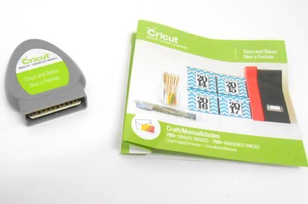SwedeMom - Cricut Days and Dates Cartridge Only - No Book/Manual
