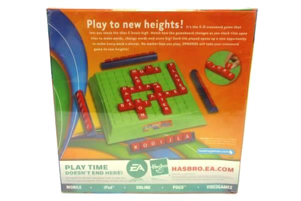 SwedeMom - Hasbro Scrabble UpWords High Stacking 3D