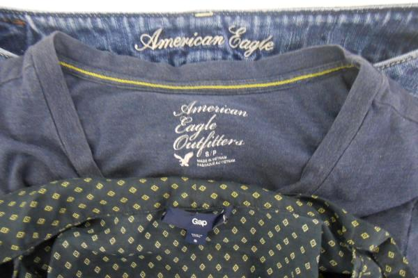 7e389e6db3b SwedeMom - Lot of 3 Women's American Eagle Shorts T-Shirt and Gap ...