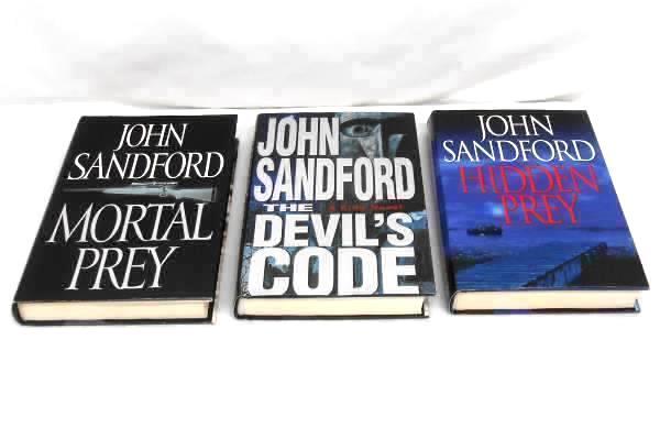 8 John Sandford Mystery Thriller PREY Lucas Davenport Virgil Flowers Hardcover