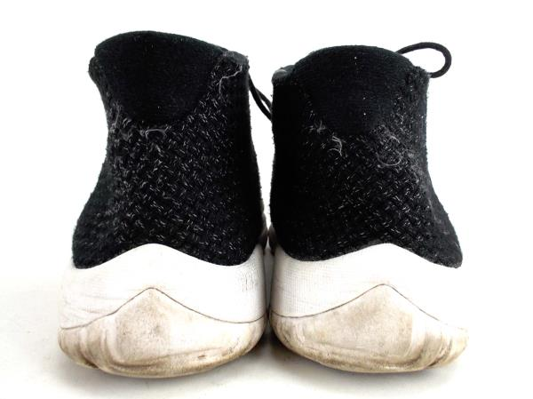 a2f2ef0c0d3 NIKE AIR JORDAN Mens Future Black Knit Weave Sneakers Basketball Shoes Sz 13