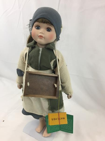 house of lloyd christmas around the world the little match girl doll 16 - Christmas Around The World House Of Lloyd