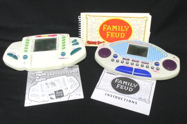 SwedeMom - Lot of 2 Handheld Games Tiger Electronics The Price is