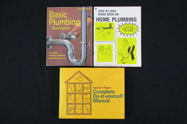 Swedemom lot of 3 do it yourself books plumbing readers digest lot of 3 do it yourself books plumbing readers digest step by step solutioingenieria Image collections
