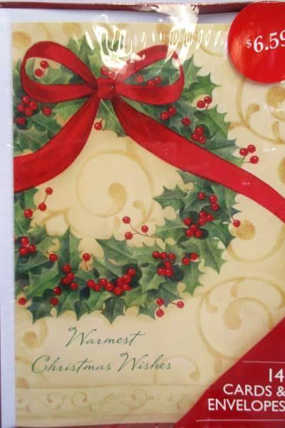 Swedemom lot of 3 american greetings holiday wreath cards box set lot of 3 american greetings holiday wreath cards box set 14 cards and envelopes m4hsunfo