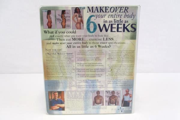 Michael Thurmonds Six 6 Week Body Makeover Provida Weight Loss Program VHS