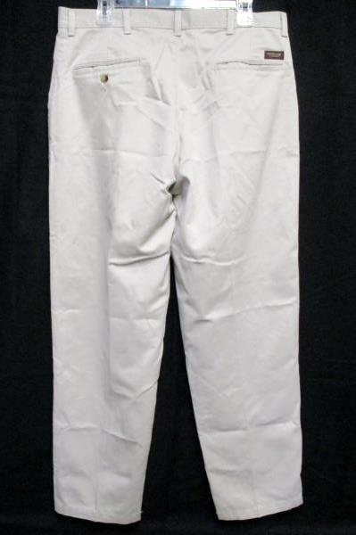 a6bffa74e1b Timber Creek By Wrangler Mens Perfect Fit Khakis 100% Cotton Pleated 36 x 32