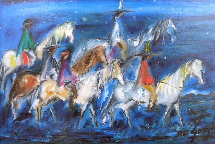 Degrazia Oil Paintings