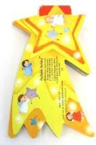 Starbucks Portable Holiday Board Book Christmas Star Jigsaw Cut Anna Curti 1999