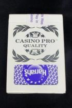 Gemaco Playing Card Deck Used in Play Harrahs Casino Souvenir Pro Quality