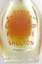 Vintage Early American Old Spice Perfume Sample Bottle Shulton