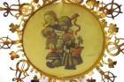 Vintage Hummel 24K Gold Christmas Ornament Collection Girls Ensemble 1986