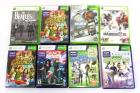 XBOX 360 Slim 250GB Console Kinect 9 Controllers Power Supplies 7 Games