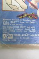 The Original Doll Baby Pre-Sewn Doll Body Kit New Package Martha Nelson Thomas