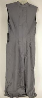 FRANCISCO COSTA CALVIN KLEIN Gray Sleeveless Bridesmaid Maxi Dress Gown Sz 6 NWT