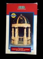 LEMAX Christmas Village Collection Lighted Grand Gazebo 5.5 Poly Resin 1999