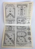 "1997 Calico Crossroads ""WINTER BELLPULL"" Counted Cross Stitch Leaflet"