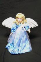 Paradise Galleries Angel of Piece By Patricia Rose Wings Porcelain Doll in Box