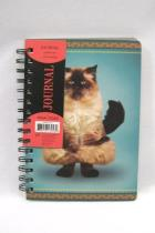 Yoga Dogs Paperworks By Leap Year JOURNAL ~ 252 Lined Pages Cat On Cover NWT