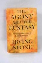 Vintage 1961 THE AGONY AND THE ECSTASY Novel of Michelangelo Irving Stone DJ HB