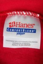 Hanes Red Silver Falls Map Souvenir Crew Neck Sweatshirt Size Adult Small