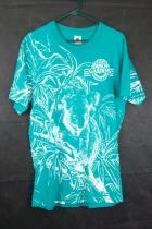 Busch Gardens Unisex Large Teal Koala T-Shirt Souvenir Koala Fruit of the Loom