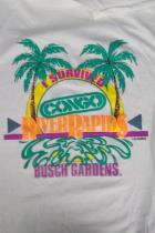 I Survived Congo River Rapids Busch Gardens White Unisex XL T-Shirt Souvenir