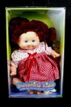 1999 Sunshine Kids Barnyard Buddies Baby Doll with Costume Red Strawberry Pig