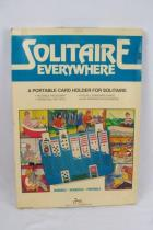 Vintage Solitaire Everywhere Portable Card Holder Game