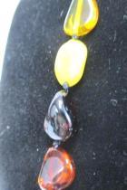 Baltic Amber Necklace 24g Butterscotch Egg Yolk Cognac Honey 36  71 pcs
