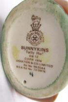Royal Doulton Bunny Kins Tally Ho Bunny On Rocking Horse SOLD-AS-IS