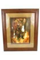 The Mare By Chris Owen Limited Edition 179/950 Framed Matted Print Art Horse