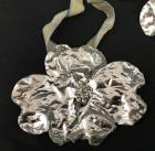 Still Life Real Leaf Ornament Collection - Miracle of Leaves - Silver