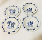 Metlox Poppytrail Homestead Provincial Blue and White 9 Pieces