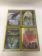 National Geographic WILDLIFE COLLECTION BOX SET (4-DVD, 2006)