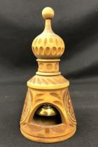 Handcrafted Wood Russian Orthodox Bell