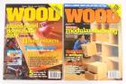 Better Homes And Gardens WOOD Magazine Lot Of 8 Year 2002
