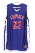 Linfield College Wildcats Purple Tank Top Jersey LCAT Cup Sunglasses Case