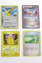 4 Pokemon Trainer Cards Pikachu 87/130 + 79/110 Trainer Ace Spec + Potion Holo