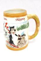 Vintage 1987 Hamm's Beer Ski Bear Pabst Brewing Mug Stein Limited Edition