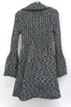 Style & Co Womens Long Sleeve Knit Duster Cardigan Size Medium Belled Sleeves