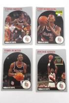 Lot Of 40 Portland Trail Blazer Trading Cards Porter Kersey Dudley Edwards Adelm