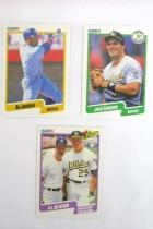 Lot Of 2 Boxed Set Baseball Trading Cards Fleer 90 & Score 90 In Boxes