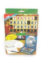 VTG 90s Travel Game Wheel Of Fortune Original Box Ages 8-Adult Players ~Tyco~
