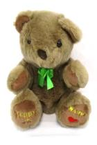 2 Teddy Jr Warm Heart Heated Microwave Bear Stuffed Plush Toy Puppkin Creations