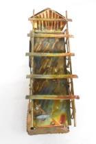 Handmade Steampunk Locomotive Train Figure Copper Rustic Decor
