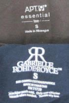 Lot Of 2 Womens Tops- Gabrielle Rohde-Royce 3/4 Sleeve Apt. 9 Long Sleeve Sz S